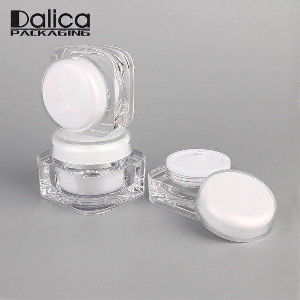 Acrylic Cream Jar J01