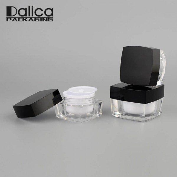 Acrylic Cream Jar J04a