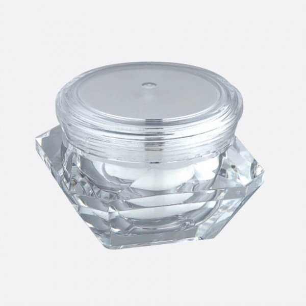 Acrylic Cream Jar J07